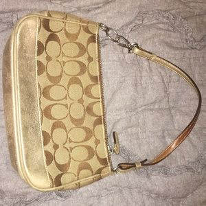 Handbags - Small coach purse with strap options